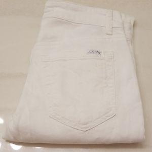 Joe's white jeans size 24 Slim Fit